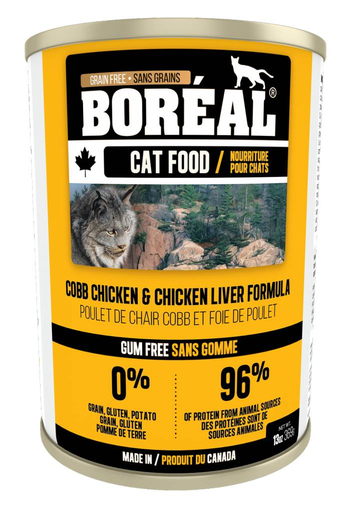 Boreal Chicken and Chicken Liver Formula 156g-1