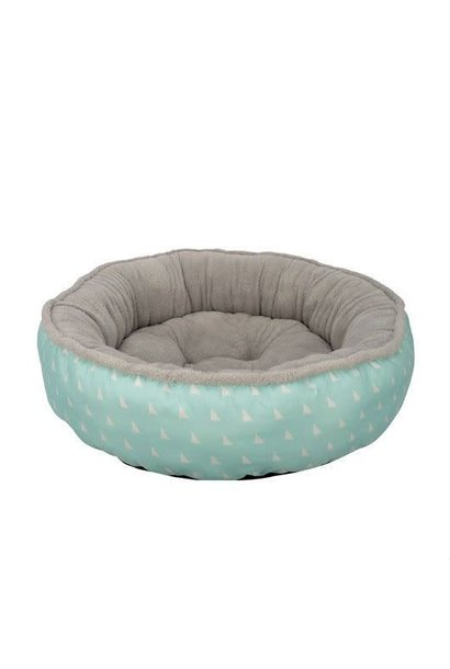 Dog Donut Bed, Baby Blue, Small