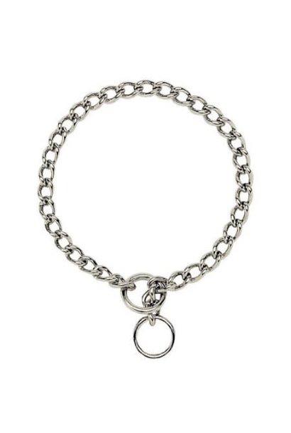 """Choke Chain Collar 18"""" Medium"""
