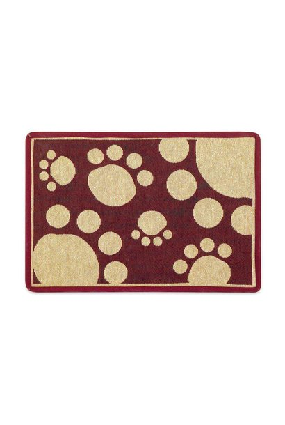 Buddy's Line Red Paws Placemat
