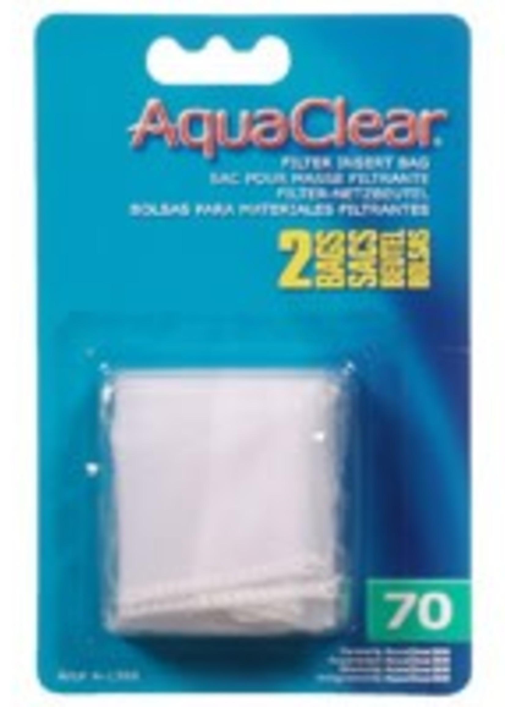 AquaClear Nylon Filter Media Bags for AquaClear 70 Power Filter, 2 pack