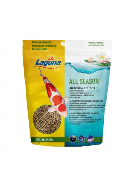 All Season Goldfish / Koi Floating Food 4.4 lb.