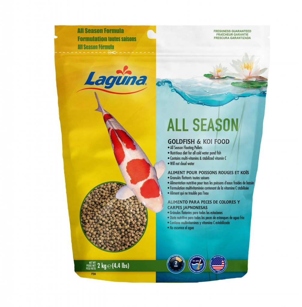 All Season Goldfish / Koi Floating Food 4.4 lb.-1