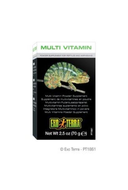 Exo Terra Multi Vitamin Powder Supplement - 2.5 oz / 70 g