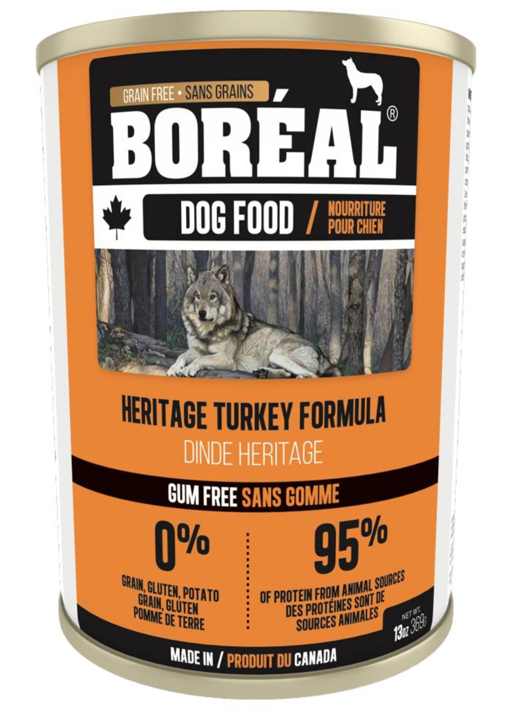 Boreal Boreal Dog Heritage Turkey Formula 13oz