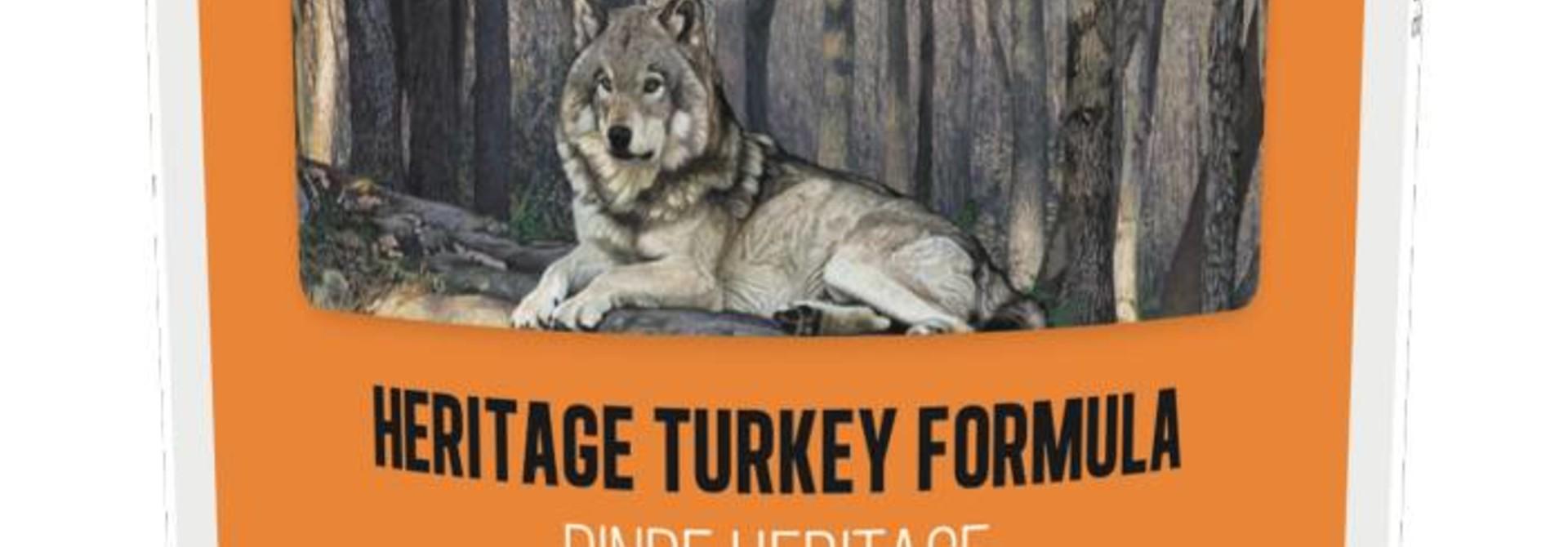 Boreal Dog Heritage Turkey Formula 13oz