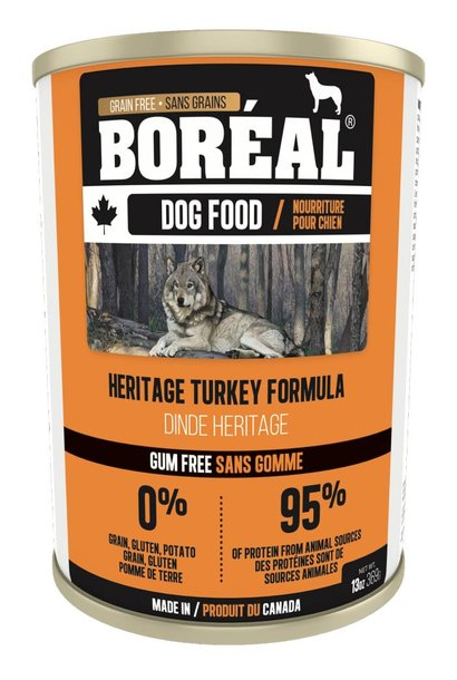 Boreal Dog Heritage Turkey Formula 13oz