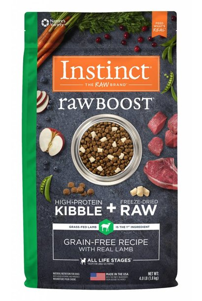 Instinct Dog Raw Boost Lamb 1.81kg
