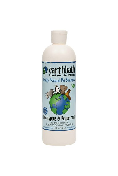 EarthBath Eucalyptus & Peppermint Soothing Stress Relief Shampoo 472ml