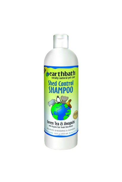 Earth Bath Green Tea & Awapuhi Shed Control Shampoo 473ml