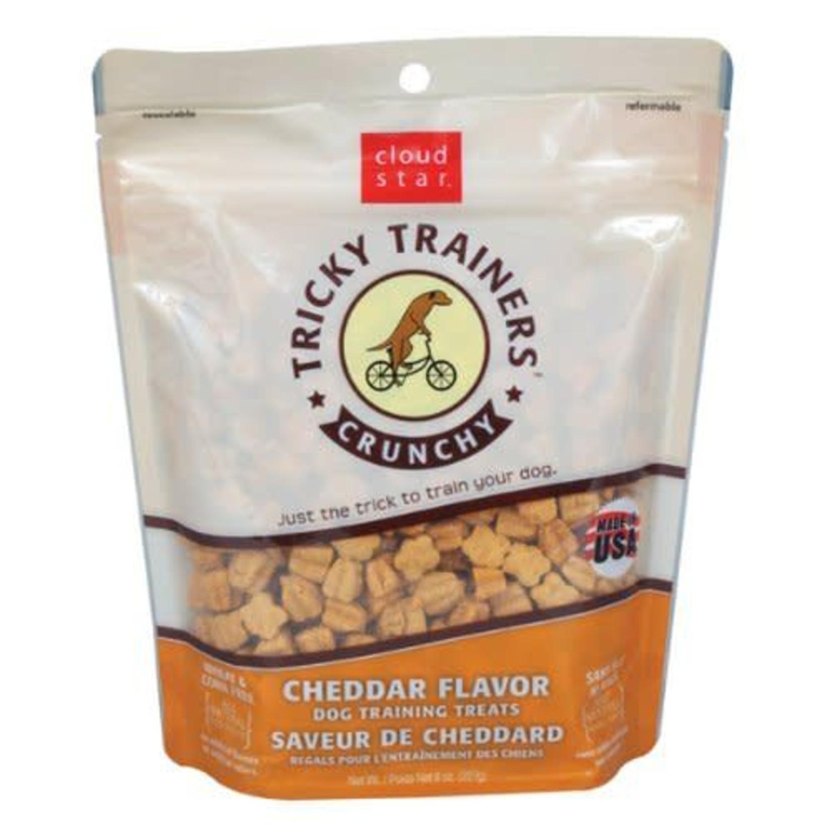 Cloud Star Tricky Trainers Crunchy Cheddar Treat 8 oz