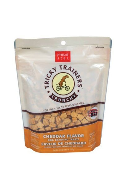 Tricky Trainers Crunchy Cheddar Treat 8 oz