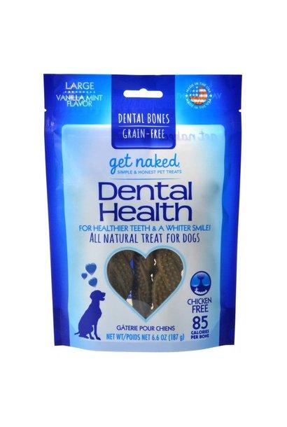Get Naked GF Dental Health Bones Large 6.6oz