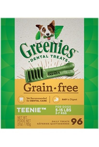 Greenies GF Tub Pack 96/Teenie 27OZ