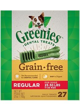 Greenies Grain Free Tub Pack 27/Reg 27OZ-1