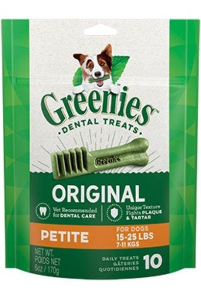 Greenies Mini Treat 10/Petite 6OZ