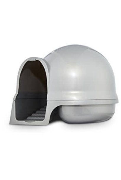 Booda Dome Clean Step Cat Box Gray