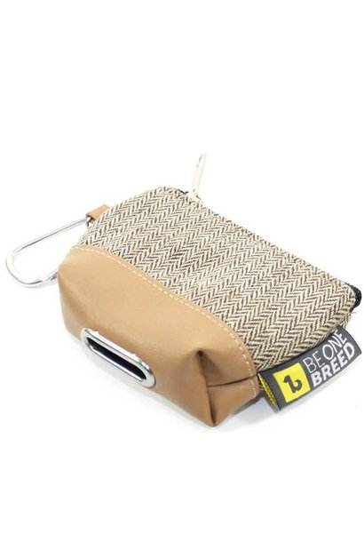 Be One Breed Poop Bag Dispenser Beige