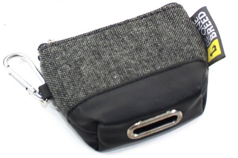 Be One Breed Poop Bag Dispenser Black & Grey