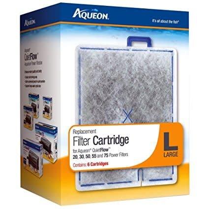 Aqueon Filter Cartridge Large 6PK-1