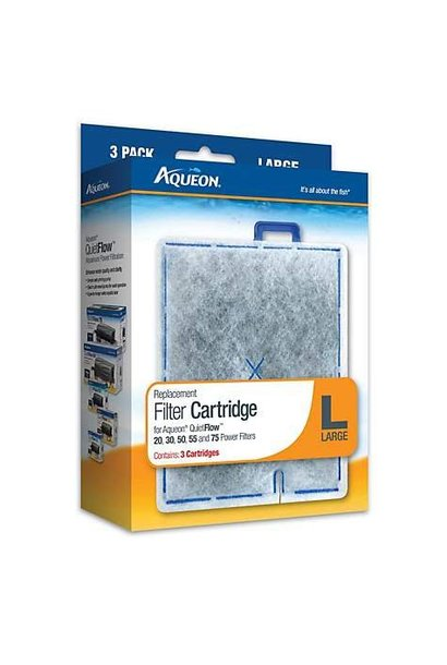 Aqueon Filter Cartridge Large 3PK
