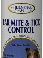 Gold Metal Pets Canadian Ear Mite & Tick Control 4oz