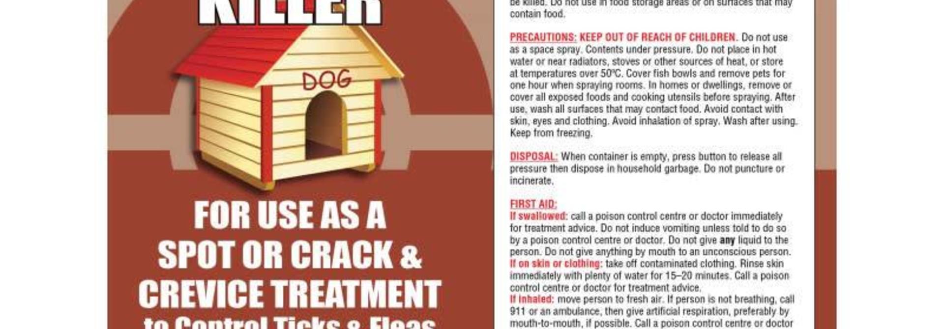 Flea Tick Residual Barrier