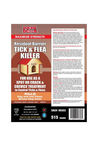 Flea Tick Residual Barrier