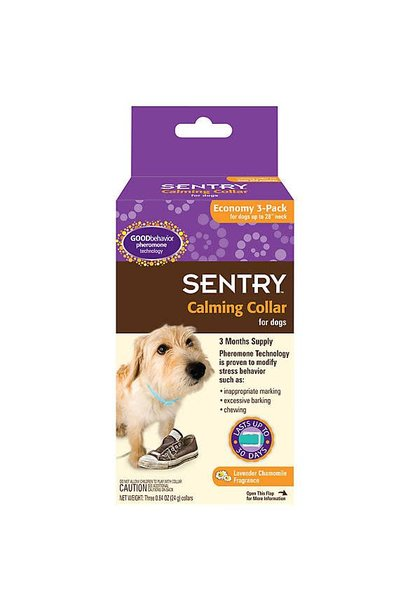 Sentry Calming Collar Dogs 3PK