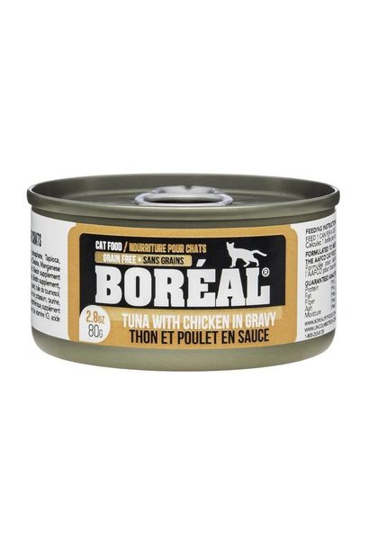 BOREAL Tuna w/ Chicken in Gravy 80g