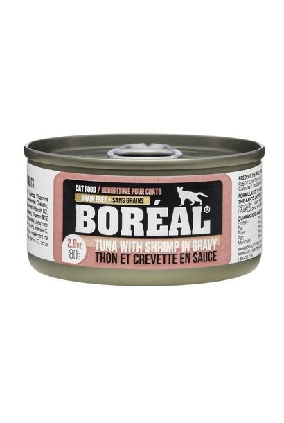 BOREAL Tuna w/ Shrimp in Gravy 80g