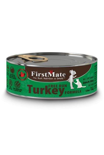 FirstMate Cat Free Run Turkey 5.5oz