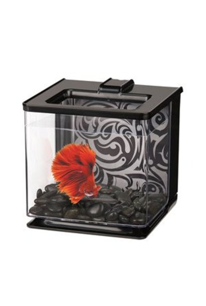 Marina Betta EZ Care Aquarium, Black