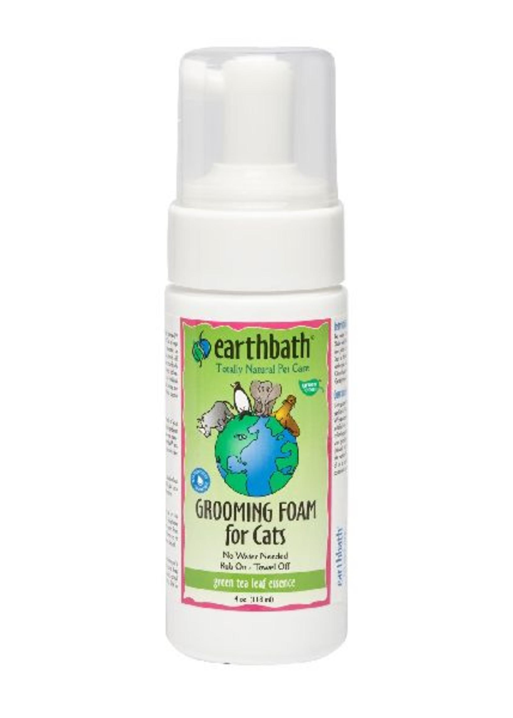 Earthbath EarthBath Green Tea Leaf Essence Grooming Foam for Cats 118ml
