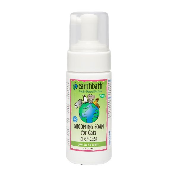 EarthBath Green Tea Leaf Essence Grooming Foam for Cats 118ml-1