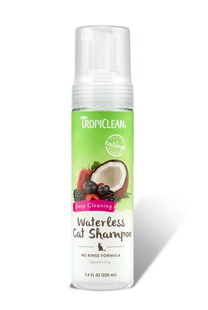 Tropiclean Waterless Cat Shampoo Deep Cleaning