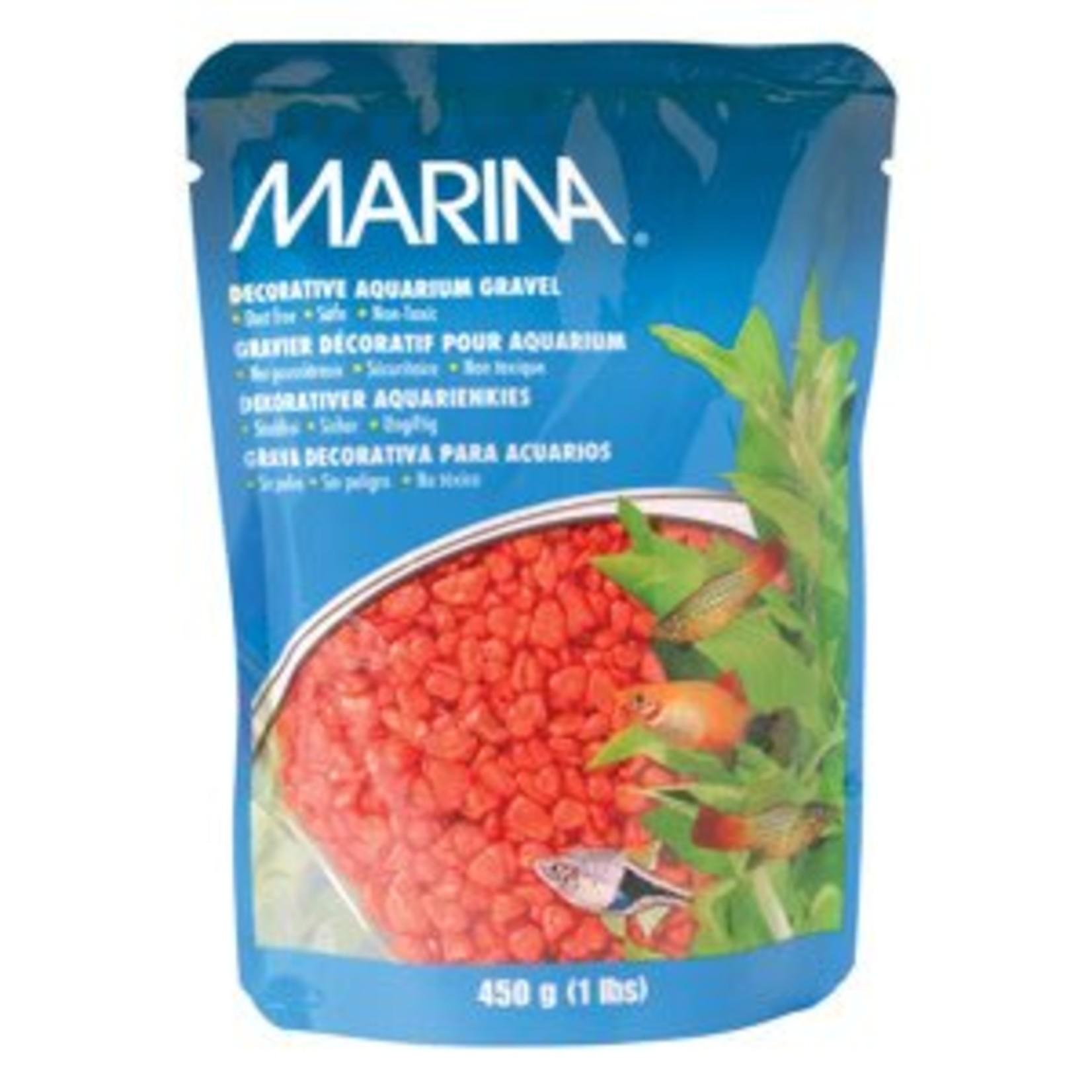 Marina Dec.Aquarium Gravel Orange-V