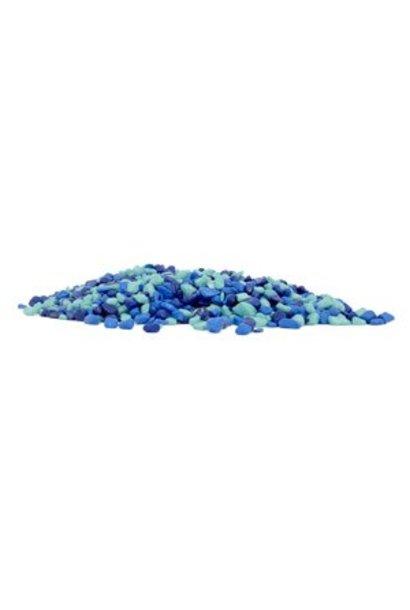 Marina Decorative Gravel, 1 lb, Blue