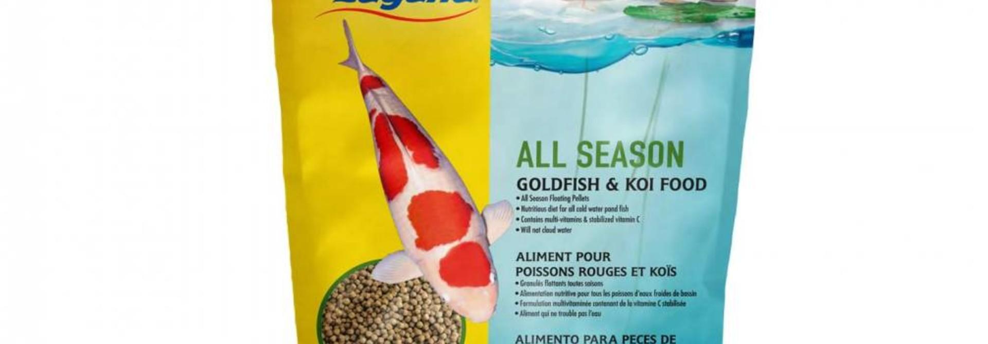 All Season Goldfish / Koi Floating Food 17 oz.