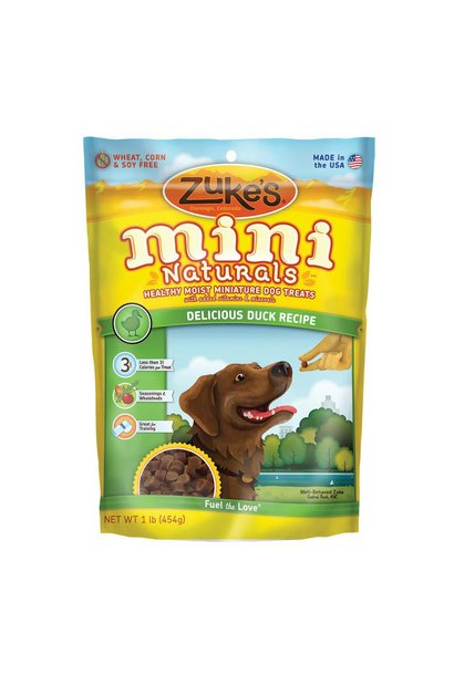 Mini Naturals Delicious Duck 1LB