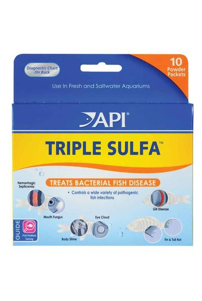 50P Triple Sulfa Powder Packets