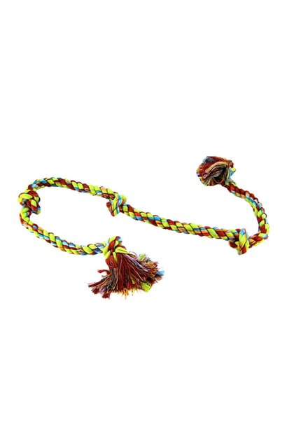 Cotton Tug 5 Knot Colored XLarge 36''