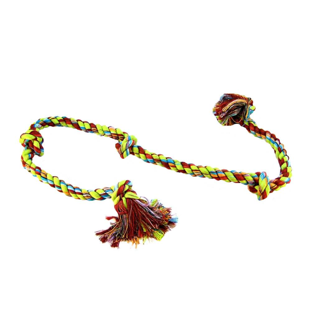 Cotton Tug 5 Knot Colored XLarge 36''-1