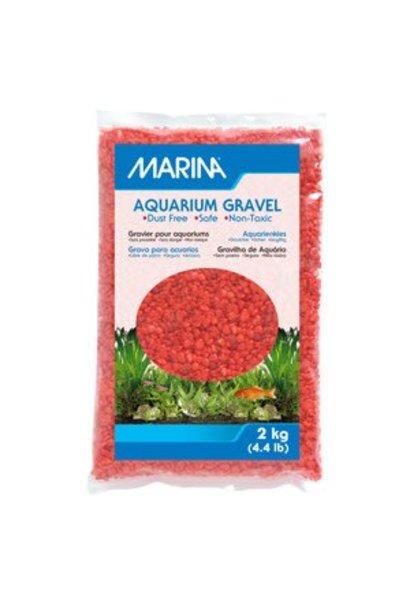 Marina Dec.Aqua.Gravel Orange 2kg-V