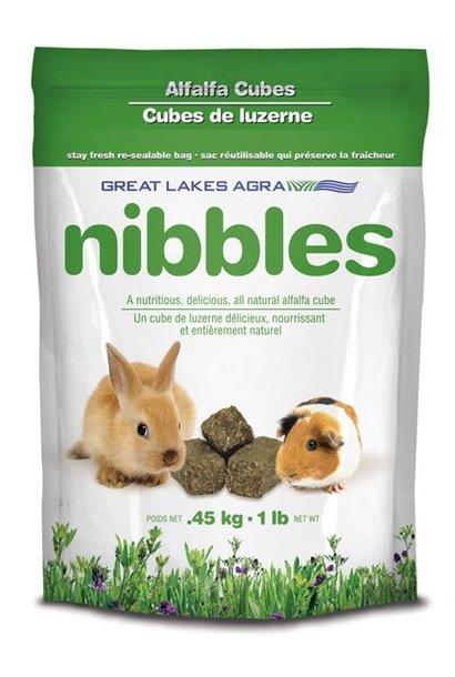 Nibbles-Alfalfa Cubes 1 lb