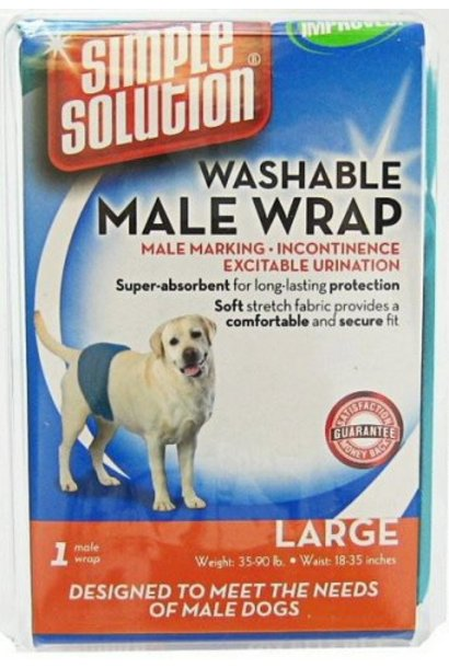 Simple Solution Washable Male Wrap Large