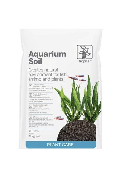 Aquarium Soil 3 L (Grain 2-3mm)