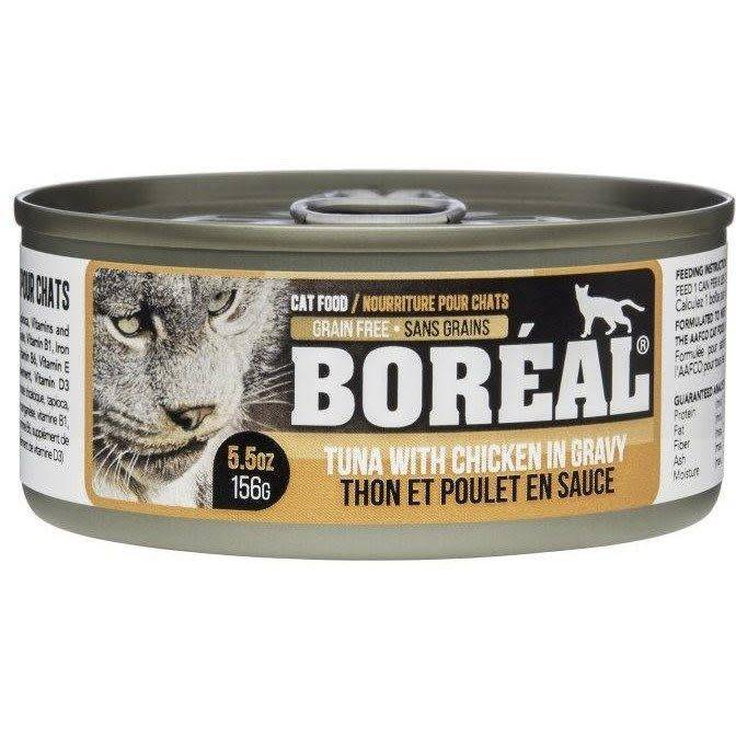 BOREAL Tuna Red Meat in Gravy w/ Chicken 156g-1