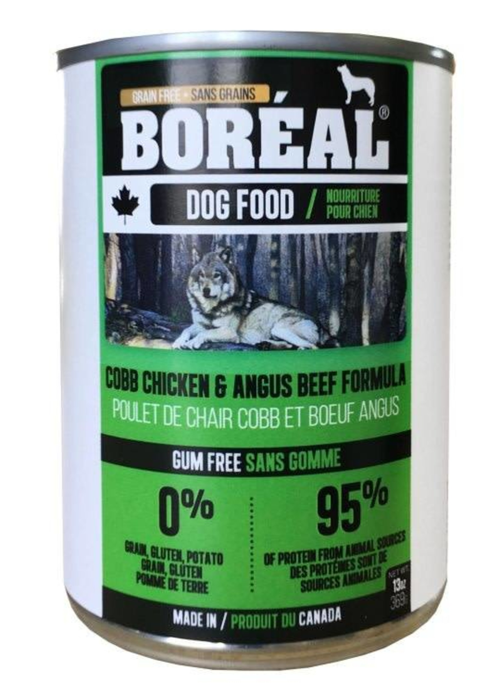 Boreal Boreal Dog Cobb Chicken & Angus Beef Formula 13oz