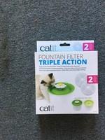 CatIt CA 2.0 Trpl Action Fntain Filter, 2 pk